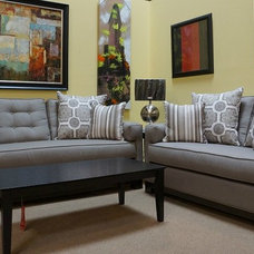 Contemporary Sofas by FurnitureOutlet