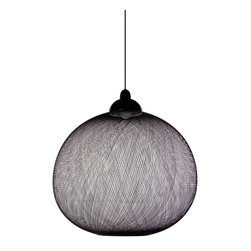 Modern Pendant Lamp: Moooi Non Random Light - Moooi Non Random Light from Stardust.  Meet the cousin of Modern Icon Random Light, the Non-Random Light? It's not quite a globe, it still gives the great diffusion, and it was also designed by Bertjan Pot. It's strong enough to stand on its own, but it's more conducive to being part of a group than the Random Light.   See any other products you like?  Please contact Stardust.