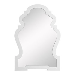 Cooper Classics - Cooper Classics Lawson Wall Mirror - 22.25W x 33H in. Multicolor - 4935 - Shop for Mirrors from Hayneedle.com! The graceful curves and high-gloss finish of the Lawson Wall Mirror will complement the decor of any room. The baroque shape evokes a European window from an earlier time. This wall mirror will quietly put the finishing touch on any room's decor. Mounting hardware is not included. Overall mirror dimensions: 26W x 37.5H inches.About Cooper ClassicsCooper Classics was founded over 50 years ago and is currently operated by the third generation of the Cooper family. Their production and warehousing facilities are located in the Blue Ridge Mountains of Virginia where they produce uniquely styled mirrors and accessory furniture. Because of their extensive background in wood product manufacturing they excel in the design and production of solid wood mirror frames and furniture. Cooper's commitment to their customers is to provide products with outstanding quality and styling while maintaining a competitive price.