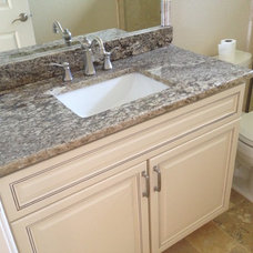 Traditional Kitchen by Cabinet Genies, INC