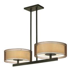 Sonneman - Sonneman 6000.51 Puri Black Brass Island Light - Sonneman 6000.51 Puri Black Brass Island Light