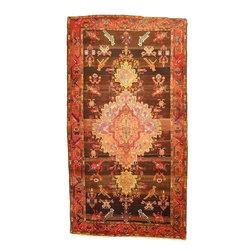 eSaleRugs - 5' 3 x 9' 9 Classic Bakhtiar Persian Runner Rug - SKU: 110899156 - Hand Knotted Classic Bakhtiar rug. Made of 100% Wool. 40-50 Years(Semi Antique).