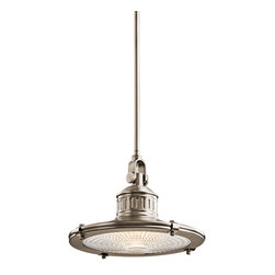 Kichler Lighting - Kichler Lighting 42437AP Sayre Antique Pewter Pendant - Kichler Lighting 42437 Sayre Pendant