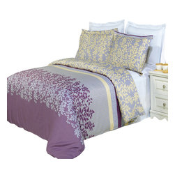 Bed Linens - Brielle Printed Multi-Piece Duvet Set, Full/Queen 3PC Duvet Set - Enjoy the comfort and Softness of 100% Egyptian cotton bedding with 300 Thread count fiber reactive prints.*100% Egyptian cotton *300 Thread count *Reactive Print, lasts longer and looks like real live pictures .