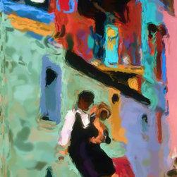 They Danced the Tango - 73cm x 109cm