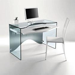 Tonelli - Strata Desk | Tonelli - Design by Karin Rashid, 2009.