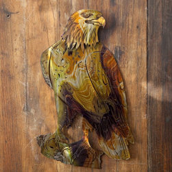 Next Innovations - Eagle Indoor/Outdoor Light Reflective Wall Art Multicolor - WA3DEAGLE - Shop for Wall Art from Hayneedle.com! Experience a whole new dimension in art with the Eagle Indoor/Outdoor Light Reflective Wall Art! Refraxion pieces are laser cut from 18-gauge steel powder-coated for rust resistance and durable enough to be used indoors or outdoors. Each piece is hand crafted. Each Refraxion piece has brackets on the back that allow the art to hang away from the wall. Plus they're designed with pieces that can be bent out to provide a 3-dimensional effect. This work of art is proudly made in the USA.About Next InnovationsWith their company headquarters and manufacturing facility in the beautiful north woods of Walker Minnesota Next Innovations employs an in-house design team and all products are engineered and produced on site. They are a young innovative company specializing in decorative home decor gift store and garden products. They have developed high-quality steel products with various finishing treatments making every product superior to others in the market. Next Innovations categories include: RefraXions Art 2 EyeCatchers Terra Decor Plant Hangers/Wall Brackets and Garden Stakes. Next Innovation's products are primarily created from 18-gauge cold rolled steel acid washed and powder coated for added rust-resistance. Color is applied through an infusion process to create a finish that won't fade or flake.