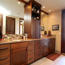 Contemporary Bathroom Vanities And Sink Consoles by Venuti Woodworking