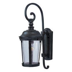 Maxim Lighting - Maxim Lighting 40093CDBZ Dover VX 1-Light Outdoor Wall Lantern In Bronze - Features