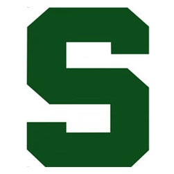 Trademarx Wall Decor - NCAA Michigan State Spartans College Logo Wallmarx Accent - Features: