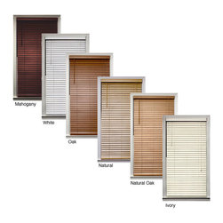 None - Bamboo 2-inch Blind (35 in. x 72 in.) - These genuine bamboo blinds come in an array of colors, from white to deep mahogany. Made purely from bamboo, these blinds are durable and perfect for your windows in any room. The many colors available will ensure that there is one to match your style.