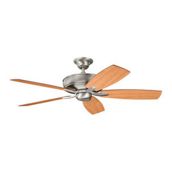 "Kichler - Kichler 339013AP Monarch 52"" Indoor Ceiling Fan 5 Blades - Remote, 4"" Do - Kichler 339013 Monarch II Ceiling Fan"