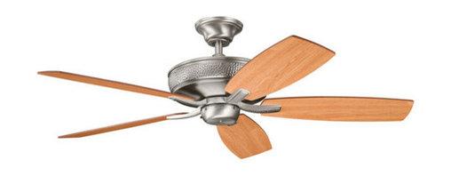 "Kichler - Kichler 339013AP Monarch 52"" Indoor Ceiling Fan 5 Blades - Remote, 4"" Do - Kichler 339013 Monarch II Ceiling Fan"