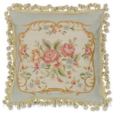 Traditional Decorative Pillows by Needlepoint Pillows
