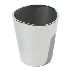 Alessi - Alessi Ice Bucket - Class up your cocktails with ice from this shiny stainless steel bucket. The metal keeps the ice from melting; the design keeps everything looking great.