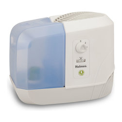 Jarden Home Environment - Holmes 1 Gallon Cool Mist Humidifier - With it's shatterproof tank, this Holmes Cool Mist Humidifier is designed for small rooms. It runs up to 24 hours per tank filling and it produces a refreshingly cool, invisible mist. This unit also features two speed settings for your optimal comfort. Bonus filter included.