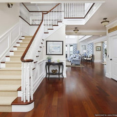 traditional staircase by Michael Pagnotta Architects pc