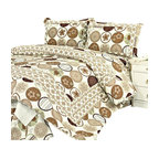 Blancho Bedding - Ramya 100% Cotton 3PC Floral Vermicelli-Quilted Patchwork Quilt Set Full/Queen - Set includes a quilt and two quilted shams (one in twin set). Shell and fill are 100% cotton. For convenience, all bedding components are machine washable on cold in the gentle cycle and can be dried on low heat and will last you years. Intricate vermicelli quilting provides a rich surface texture. This vermicelli-quilted quilt set will refresh your bedroom decor instantly, create a cozy and inviting atmosphere and is sure to transform the look of your bedroom or guest room.