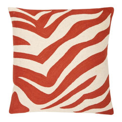 Safavieh - Urban Spice Accent Pillow  - 18x18 - Orange - Urban Spice Accent Pillow  - 18x18 - Orange