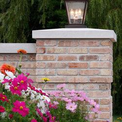 Brick Columns Outdoor Lighting Find Solar Lights And