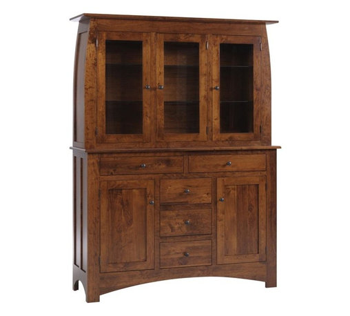Craftsman China Cabinets & Hutches: Find Curio Cabinets and Kitchen Hutch Designs Online
