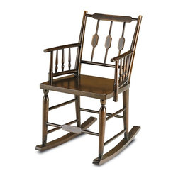 Currey - Currey Rocking Chair, Brandywine Mahogany - Product Details