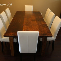 Reclaimed Wood Harvest Tables - HD Threshing Floor Furniture - www.table.ca