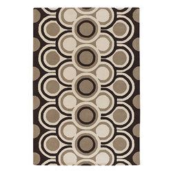 Chandra - Chandra Fresca Modern / Contemporary Hand Tufted Rug X-32-0354ERF - The Fresca collection is renown because of its organic feeling giving a welcoming tone through its natural colors along with simple and posh designs. The Fresca collection is one of the few designs that can bring this organic balance represented in the rugs.