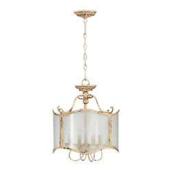 Cyan Design - Cyan Design Maison 4 Lt Dual Mount 04637 - Transform your room in an instant with this lovely four-light chandelier. Sophisticated and elegant, it will create an alluring ambience in your dining room or living room.