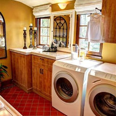 Traditional Laundry Room by Garage Envy