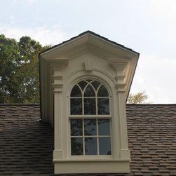 New Home Construction - Custom dormer trim