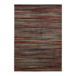 Nourison - NOUR-1936 Nourison Expressions Area Rug Collection - Features modern abstract designs in rich colors and hand carved for additional texture, depth and dimension. These rugs provide both beauty and value. Make a statement and express your creativity instantly with this collection