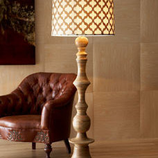 """Jamie Young """"Natural"""" Floor Lamp - Horchow"""