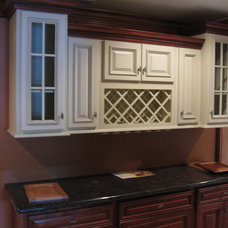 Modern Kitchen Cabinets by Lily Ann Cabinets