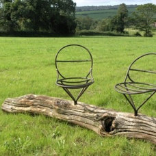 Traditional Outdoor Chairs by Bouf