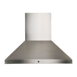 """Cavaliere Euro AP238-PSF-30 30"""" Wall Mount Range Hood - This stainless steel wall mount range hood is available in 30"""" 36"""", and 42"""" at RangeHoodsInc.com with prices starting at $509.95. Shipping is always Free. You can save an additional 10% using code RHIHZ10  at checkout."""