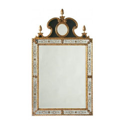 Lillian August - Lafayette Grand Mirror - If you're furnishing a French apartment (it doesn't have to be in France), an antique mirror is a must-have. This large, traffic-stopping mirror with decorative mirrored border is worthy of a splurge.
