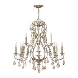 Hinkley Lighting 4778SL 9 Light Chandelier Carlton Collection -