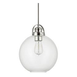 Capital Lighting - Capital Lighting 4641PN-136 Polished Nickel Pendant - Capital Lighting 4641PN-136 Polished Nickel Pendant