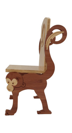 ChairZü - Monkey Chair, Standard - Say hello to MUNKIN! This little fella is made in America by True Craftsmen.