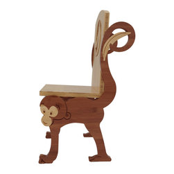 ChairZü - MONKEY CHAIR, -Standard- - Say hello to MUNKIN! This little fella is made in America by True Craftsmen.