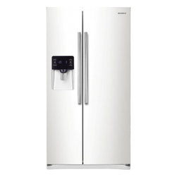 Samsung - RS25H5121WW 25 cu. ft. Side-By-Side Refrigerator with Twin Cooling System  Filte - This Side-By-Side Refrigerator allows you to store fruits vegetables meat and all other things that you want to keep fresh Its twin cooling plus system maintains perfect humidity level for freshness CoolSelect Zone provides separate temperature contr...