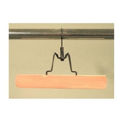 Proman Products - Cedar Trouser Hanger in Natural Finish - Set - Set of 12