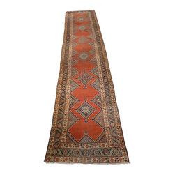 4 x 19'6 Antique Persian Runner - Oriental rugs are famously known to gain more value over time. An authentic Antique or Semi-Antique rug is not only an instant centerpiece in any setting, but is a wonderful investment which only increases over the years. This collection features rare and valuable authentic hand-knotted area rugs from all over the world at exclusive discount prices.