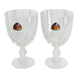 Pater Lieven - Consigned Vintage Pair of Pater Lieven Belgian Beer Glasses - Product Details