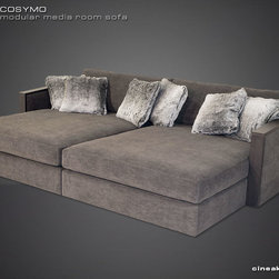 COSYMO is the ultimate modular sofa. - A NEW WAVE OF MODULARLY-BUILT SECTIONAL SOFA SEATING