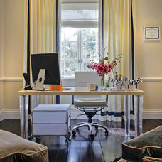 Traditional Home Office by Charlotte Dunagan Design Group
