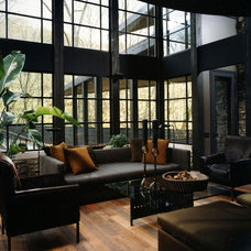Contemporary Living Room by Peace Design