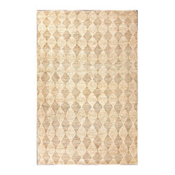 Naturals Treasure Diamonds Rug - Cloud White, 8 X 10 - Its earthen coloration calls to mind a sparkling, soft-sand shore, where memories are gathered like delicate shells.  The Naturals Treasure Diamonds Rug - Cloud White is woven of 100 percent hemp. The rug is both eco-friendly and highly durable; the neutral hues allow for harmonious blending with a wide range of color palettes.