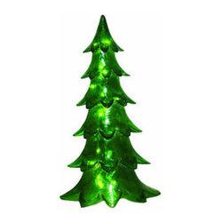 Alpine Tree Decoration 50 in. - Fiberglass Alpine Tree Decoration